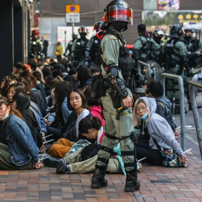 students, arrested, police, polytechnic university, Hong Kong