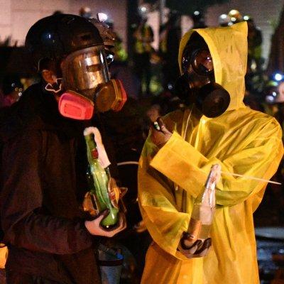 Hong Kong, petrol bomb, molotov cocktail, students