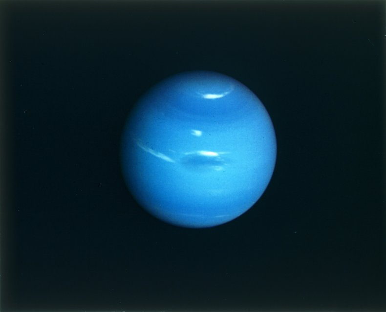 Neptune by Voyager 2