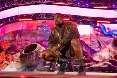Kanye West Performs at Coachella Festival 2019