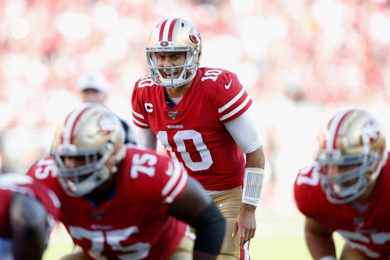 Jimmy Garoppolo, San Francisco 49ers