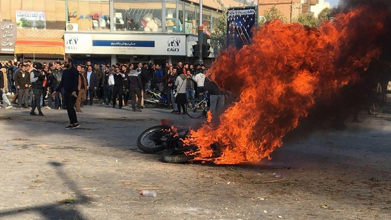 Iran, protests, IRGC, gasoline, prices