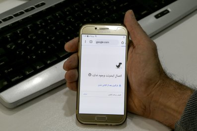 iran internet blackout access protests