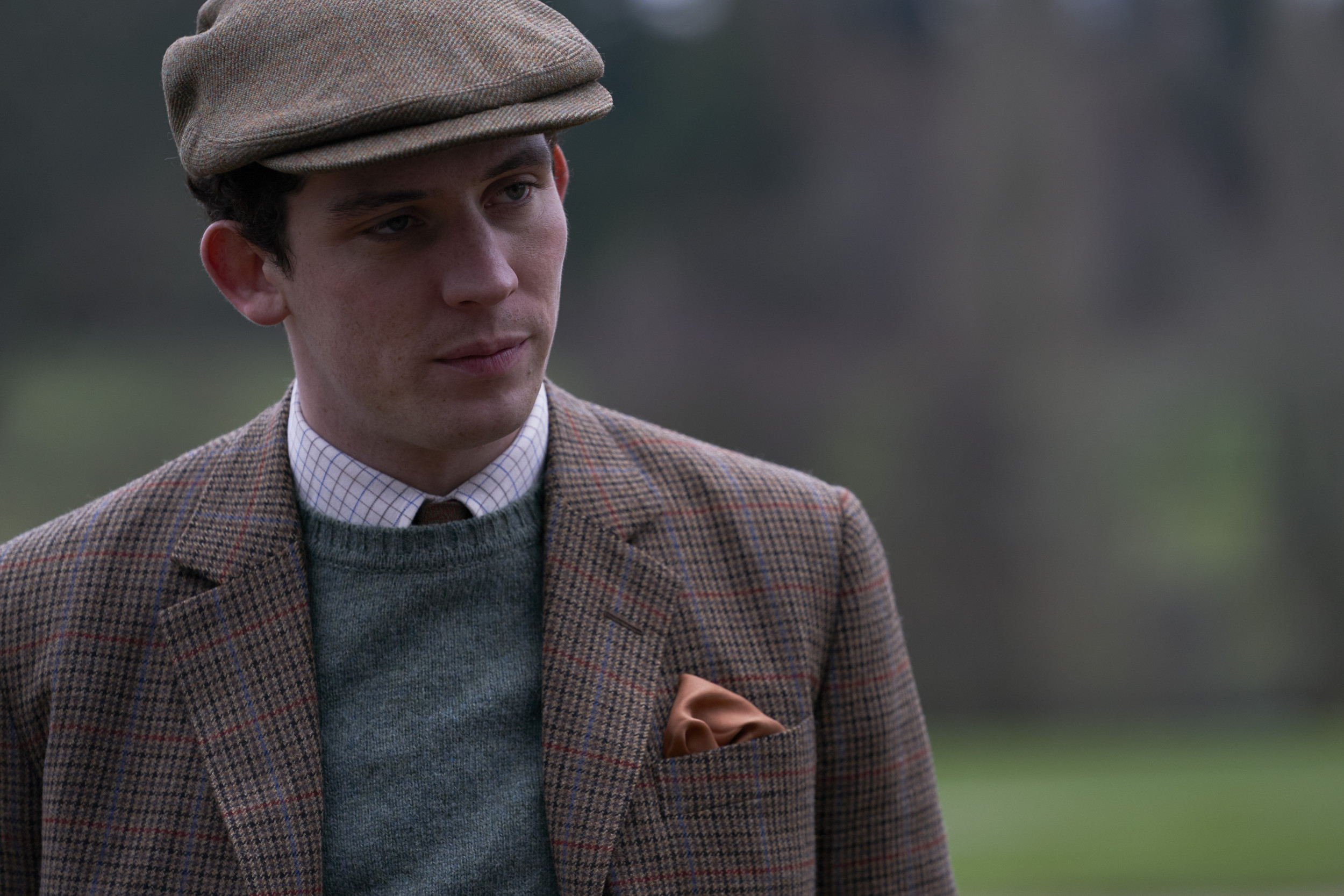 Image result for photos of josh o'conner as prince charles""
