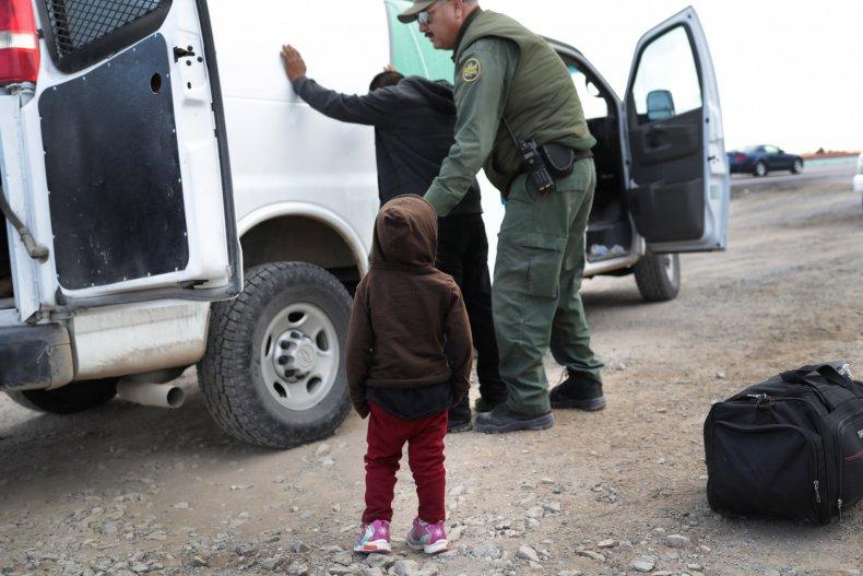 Child Immigration Border Patrol