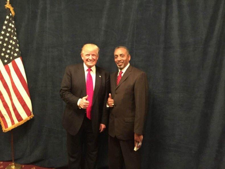 Clarence Weaver Donald Trump