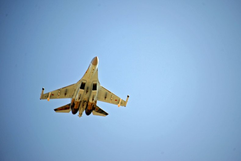 russia fighter jet aircraft syria