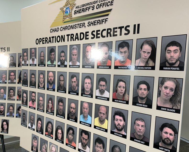 hillsborough county sheriff's offices, human trafficking, florida,