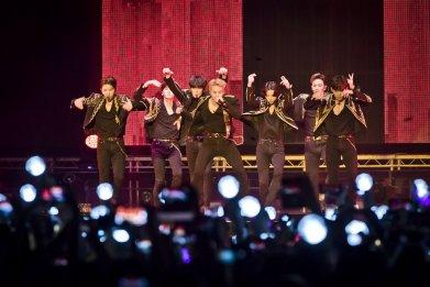 Monsta X Kpop band Berlin July 2019