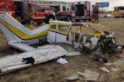 Small aircraft crash Utah