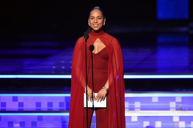 Alicia Keys Grammys