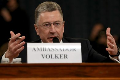 kurt volker testimony trump impeachment heraings