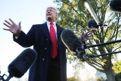 Trump Polls CNN Anchor