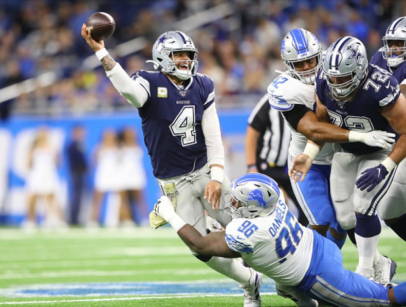 Dak Prescott Dallas Cowboys Quarterback