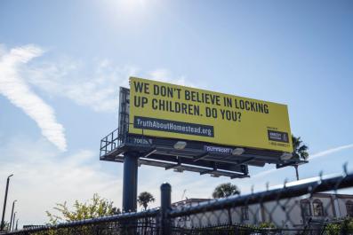 Amnesty billboards