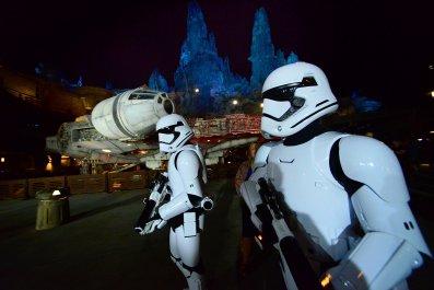 Stormtroopers Star Wars: Galaxy's Edge Orlando Florida