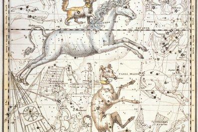 Constellations of Monoceros the Unicorn