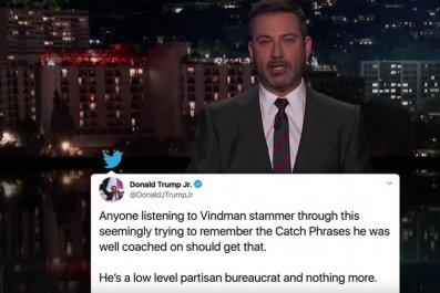 Jimmy Kimmel on Trump