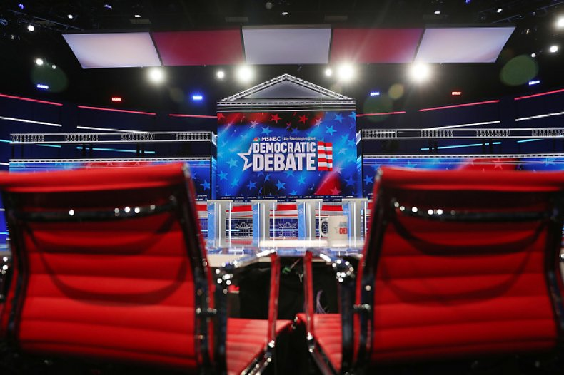 debate stage atlanta georgia democratic primary 2020