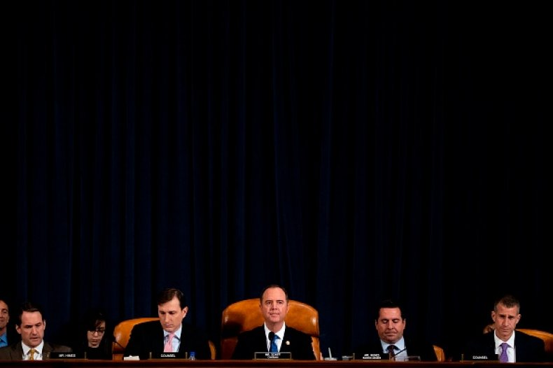 house intelligence committee trump impeachment public hearings