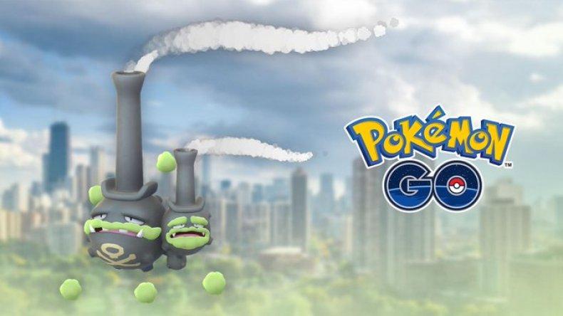 pokemon go galarian weezing raid
