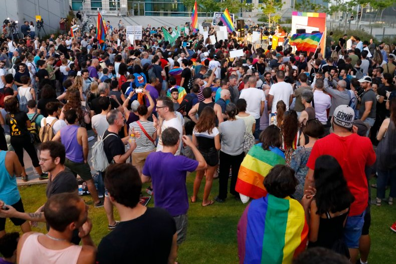 Conversion Therapy Protest Israel