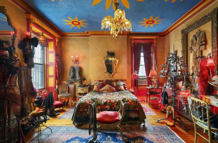 Hotel Chelsea Tony Notarberardino's bedroom