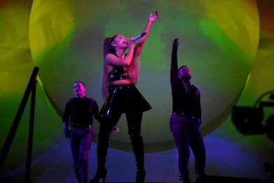 Ariana Grande and Bernie Sanders Finally Unite at Singer's Concert