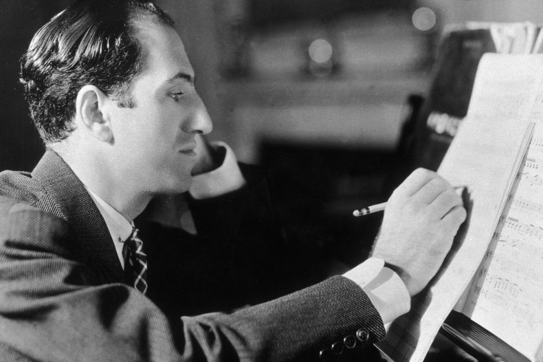 Gershwin composing
