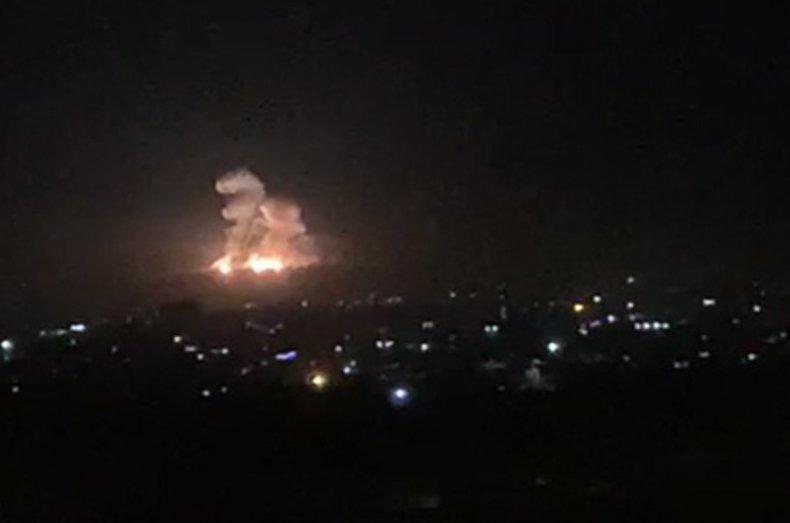 syria damascus israel strike iran