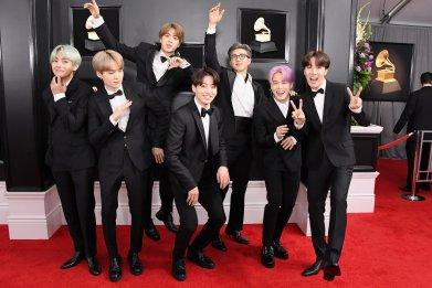 BTS Grammy Awards LA 2019