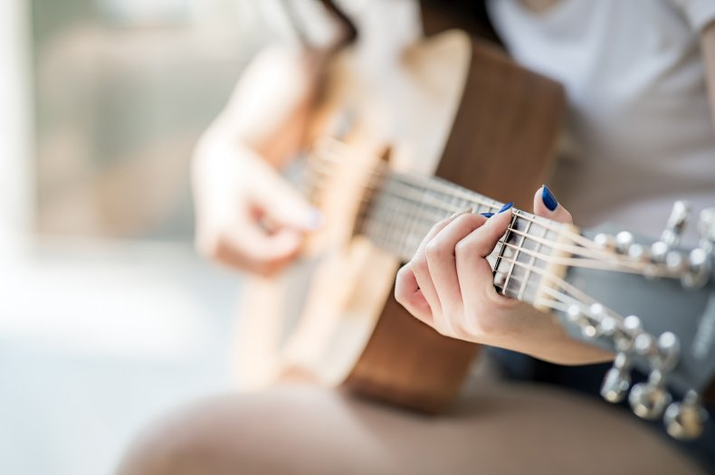 guitar, music, song, fingers, stock, getty