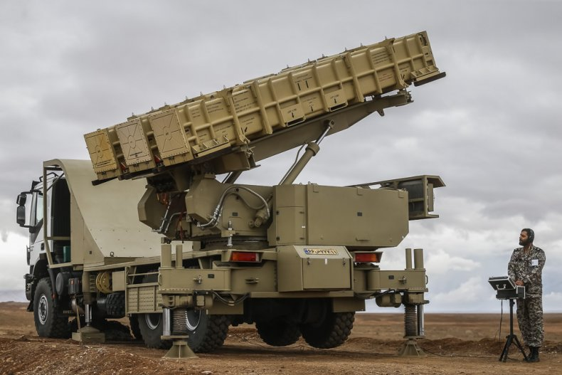 iran air defense system military drills