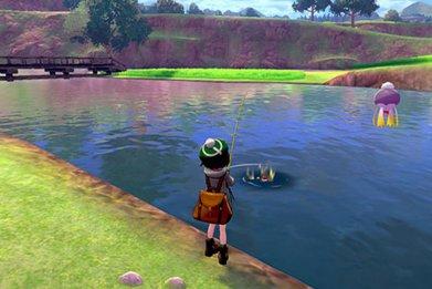 pokemon sword shield chain fishing