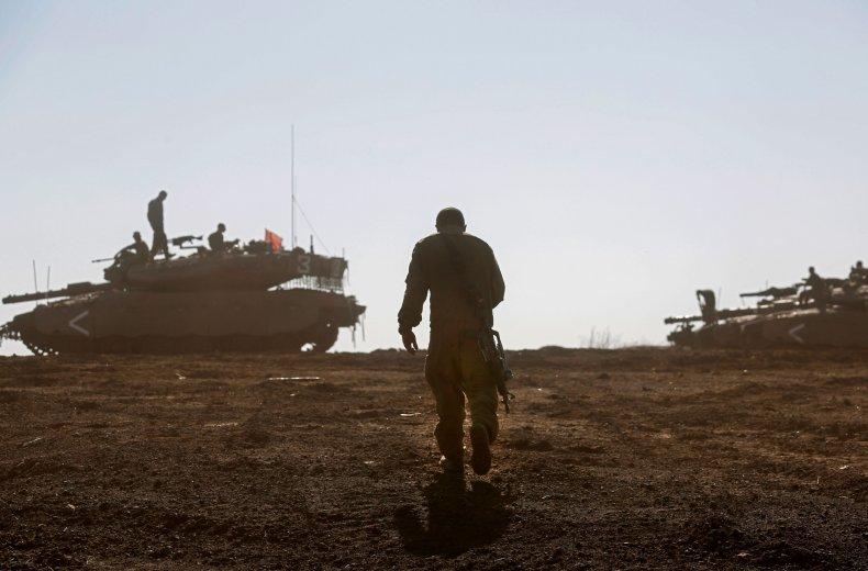 israel military golan heights border