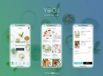 GoodBarber - Yogii Shopping App