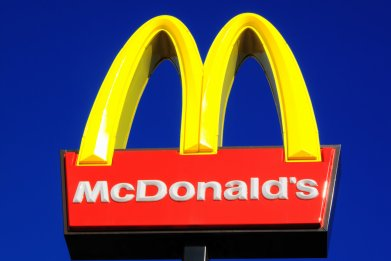mcdonald's, golden arches, fast food, stock, getty