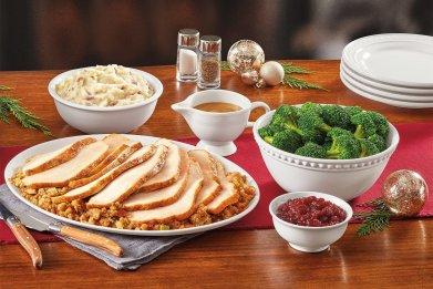 Denny's Turkey Dinner