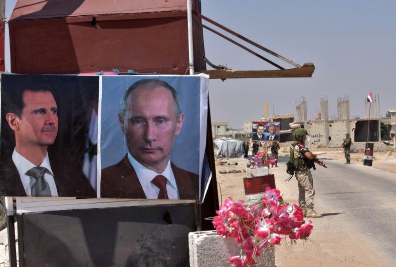 syria assad russia putin war military