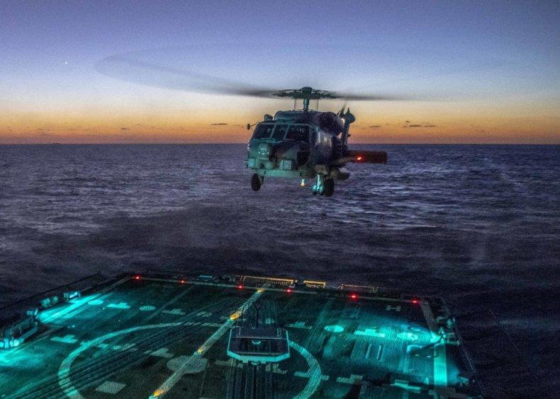 uss wayne meyer navy east china sea