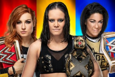 becky shayna bayley survivor series