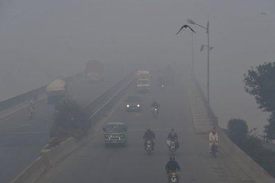 Lahore Pakistan Smog