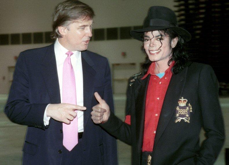 Donald Trump Michael Jackson