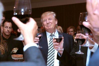 Donald Trump Cash DC Hotel