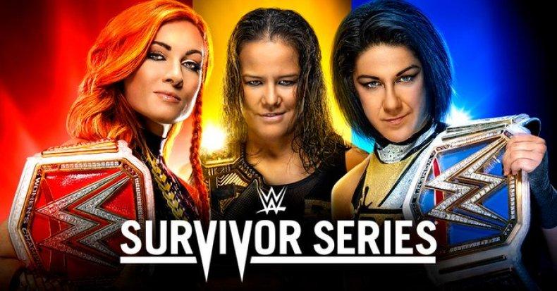 wwe survivor series 2019 poster women