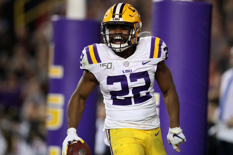 Clyde Edwards-Helaire, LSU