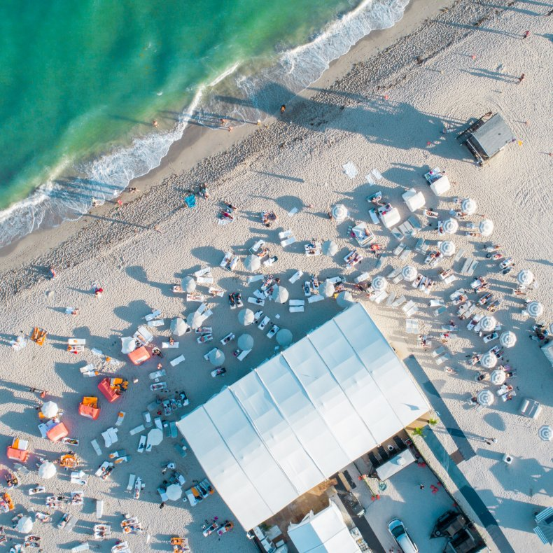 The Beach Tent at Nautilus by Arlo