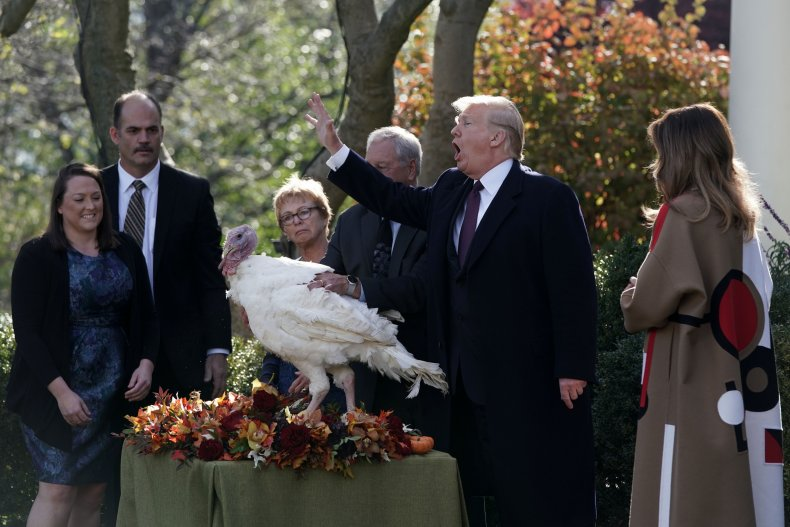 Trump turkey pardon