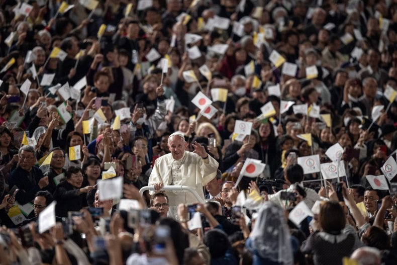 Pope Francis Japan