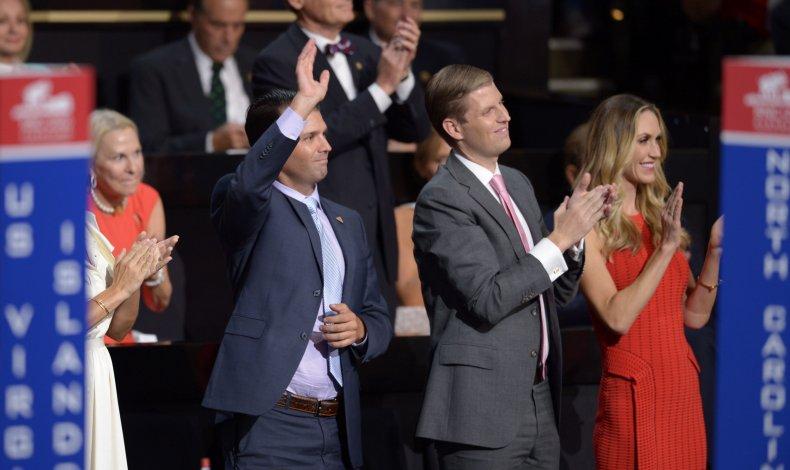 Donald Trump Jr. Lara Trump